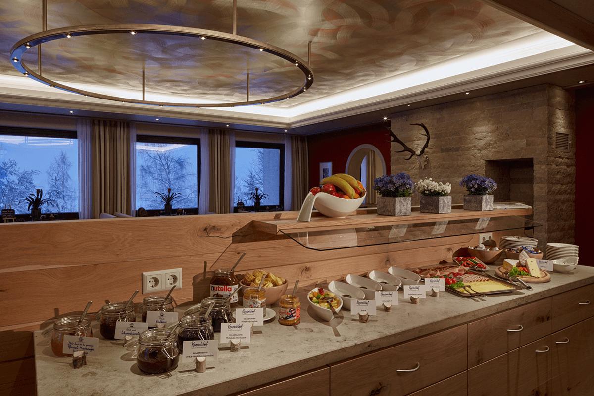 Reichhaltiges Frühstücksbuffet - Hotel Konradshof