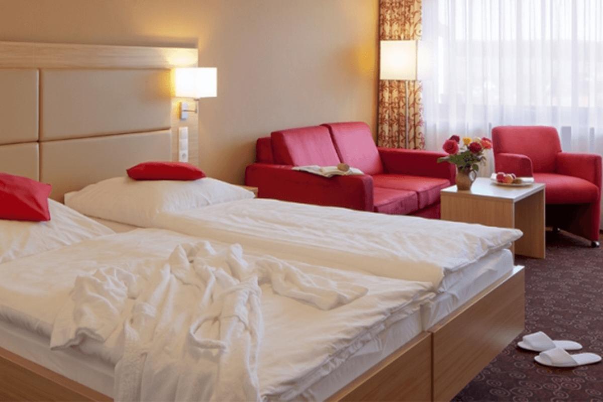 Gemütliches Klassik Zimmer mit Doppelbett - Hotel Konradshof