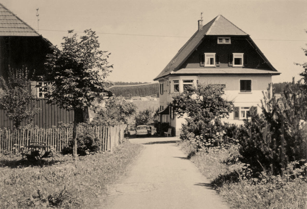 Alte Aufnahme des Hotels - Hotel Konradshof